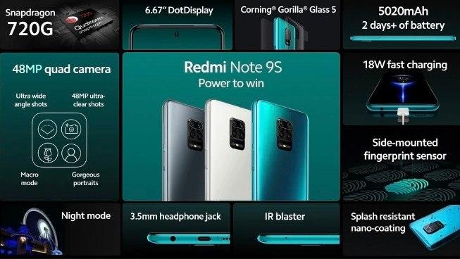 Redmi Note 9S el mejor precio calidad